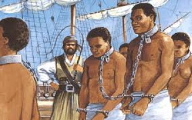 Colonias - Esclavitud Africana