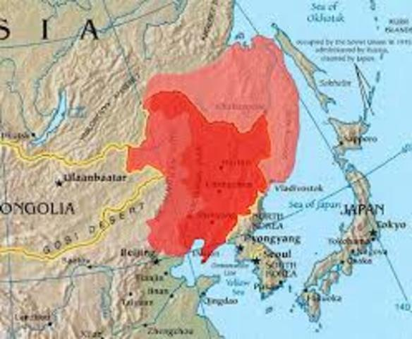 Japanese invasion on Manchuria