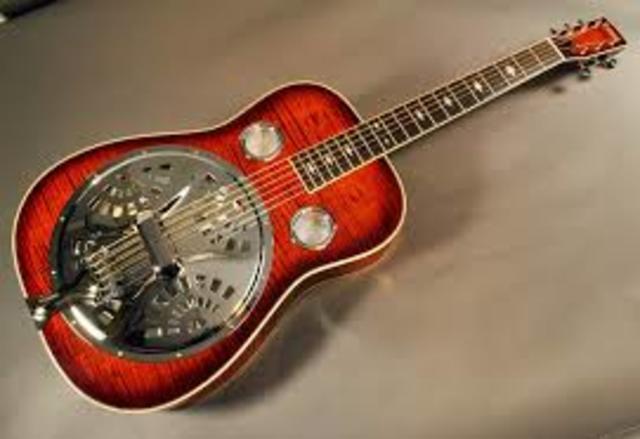 Dobro Resonator Guitar