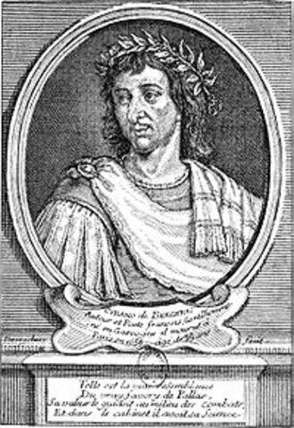 Décès de l'écrivain Savinien de Cyrano de Bergerac