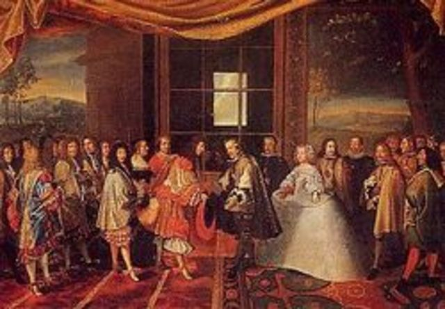 Traité des Pyrénés entre la France et l'Espagne