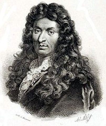 Décès de Jean Baptiste Lully