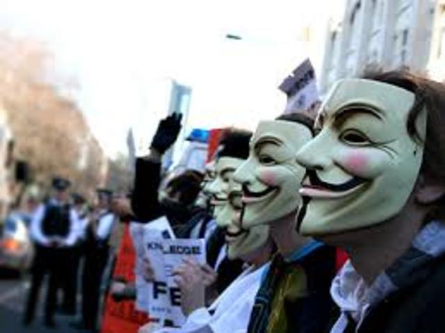 Los anónimos contra la cienciología