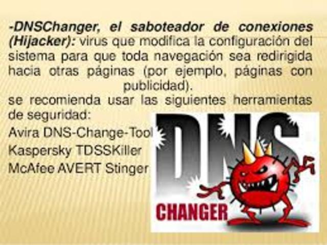 DNSChanger, el saboteador de conexiones (Hijacker)