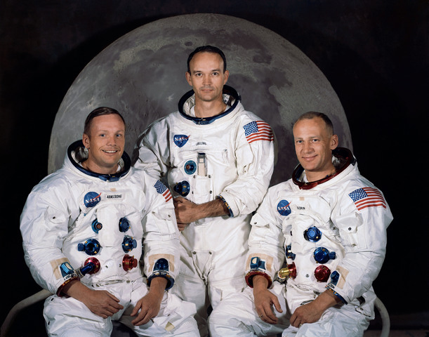 First Humans on the Moon