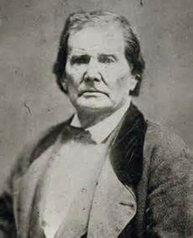Lincoln's father dies