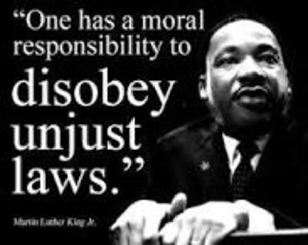 Civil Disobediance