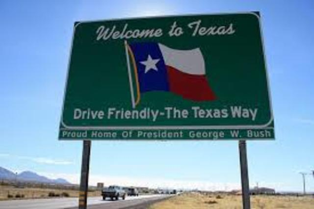 Texas Enters the United States