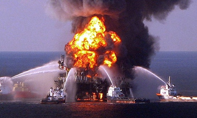 BP Oil Rig Explodes & Causes Largest Oil Spill in US History