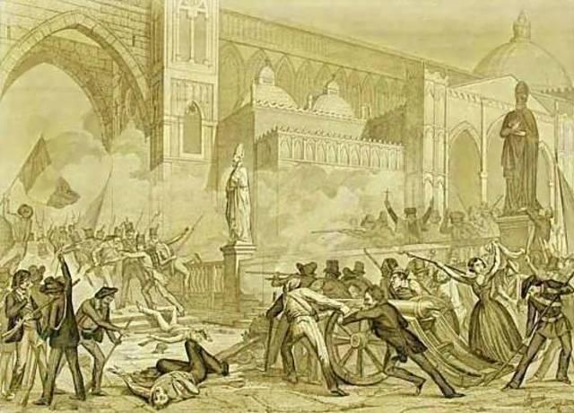 L'insurrezione di Palermo