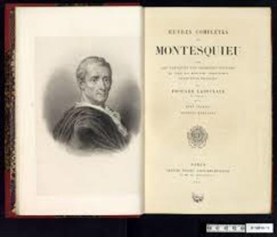 CHARLES LOUIS DE SECODAN MONTESQUIEU