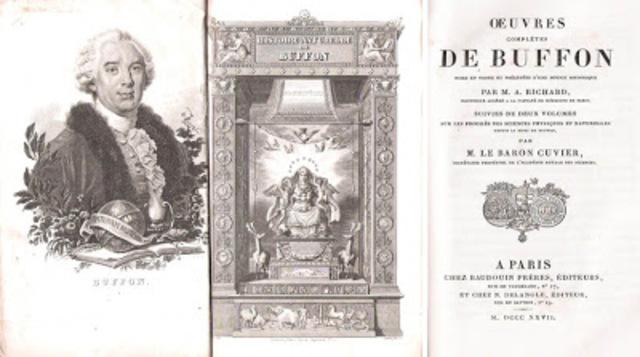 GEORGES LOUIS LECLERC CONDE DE BUFFON