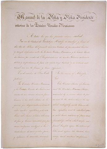 Treaty of Guadalupe Hidalgo