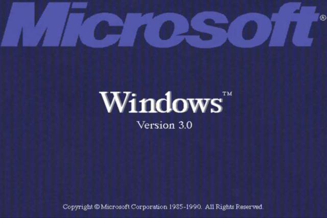 Windows 3.0.