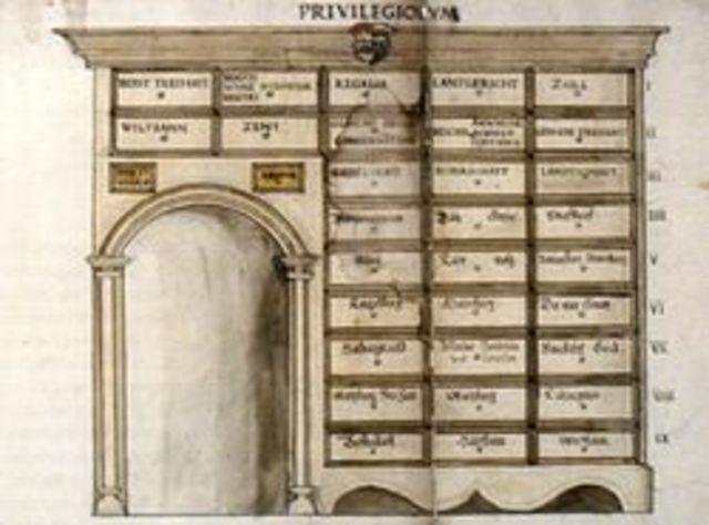 primer archivero del mundo