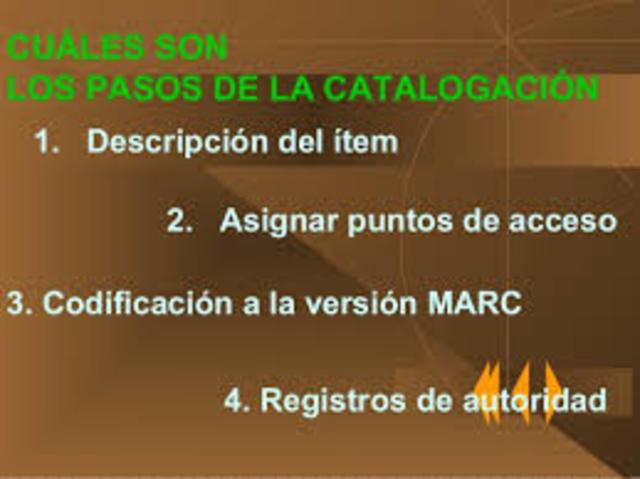 base de datos conocidos como Marc (Machine Readoble Cataloguing)