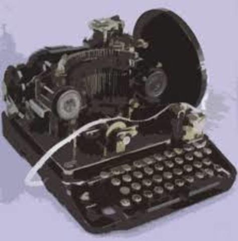 Teletipo permitio el envio de mensajes