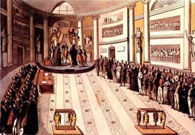 La reacció absolutista (1823-1833)