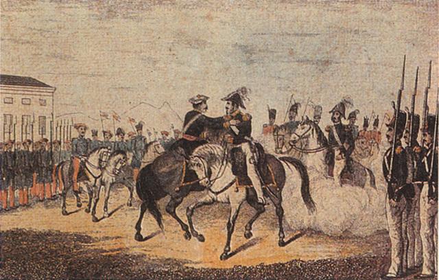 La primera guerra Carlina