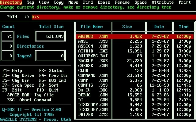QDOS 1980