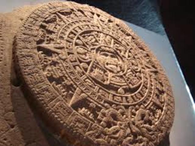 calendario azteca arcilla