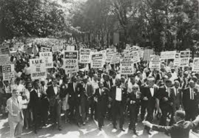 Nonviolent Protest/ March on Washington