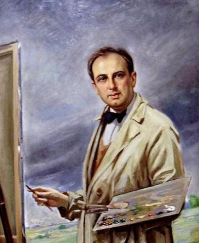 Ricardo Gómez  autor de la obra de Jose Vicente