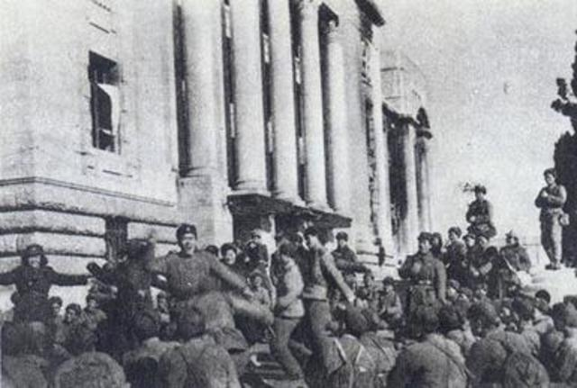 Chinese Forces Capture Seoul