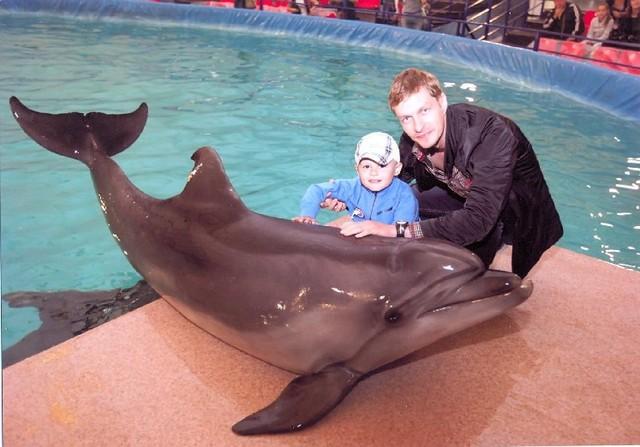 Ходили в дельфинарий