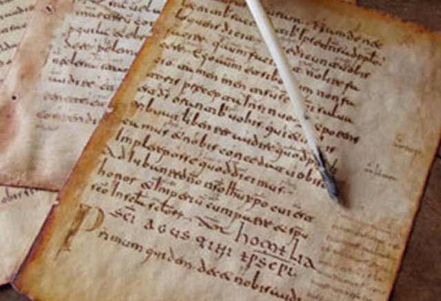 El Catellano Medieval.  Situación lingüística de la Península hacia el siglo X: Los romances peninsulares