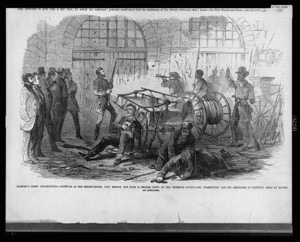 John Brown's raid/Harpers Ferry