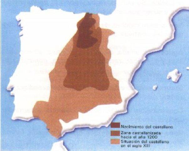 Nacimiento y expansión del castellano