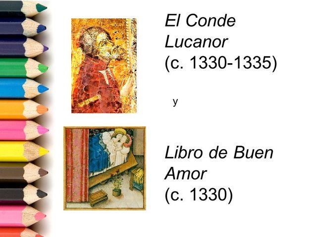 Aparición de nuevas obras literarias en castellano