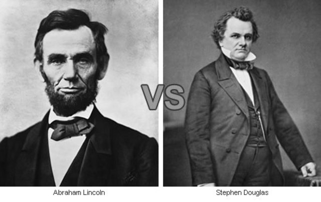 Abraham Lincoln amd Stephen Douglas Debates