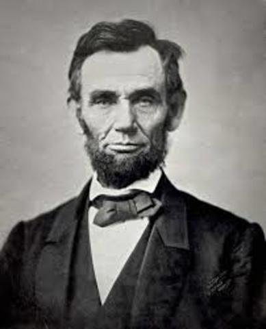 Abraham Lincoln becomes President