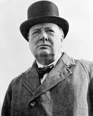 POL Winston Churchill asume como primer ministro británico.