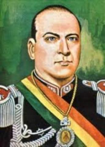 SOC El coronel gualberto villarroe encabeza un golpe de estado nacionalista y popular en Bolivia