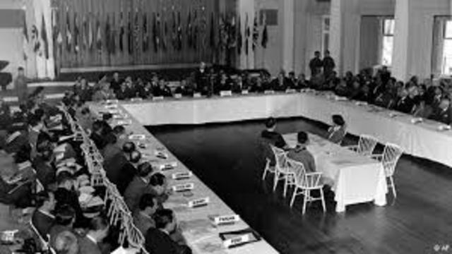 POL Se raliza la conferencia de Bretton Woods.