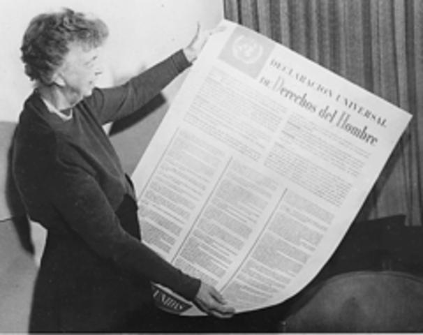 POL Se produce la Declaración Universal de los derechos humanos por parte de la ONU.