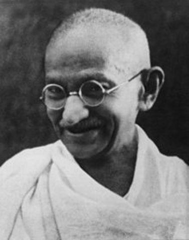 SOC El líder pacifista indio Mahatma Gandhi es asesinado en la Inida.