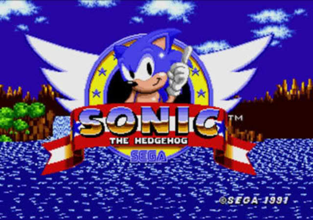 Sonic the hedgehogs first game was released.
