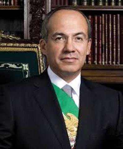 2006-2012 Felipe Calderón Hinojosa