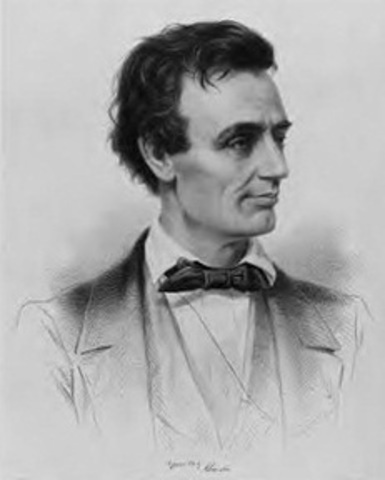 Abraham Lincoln Delivers the House Divided Speech