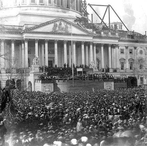 Inauguration of Abraham Lincoln