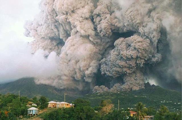 Soufrire, Montserrat, Karib-szigetek