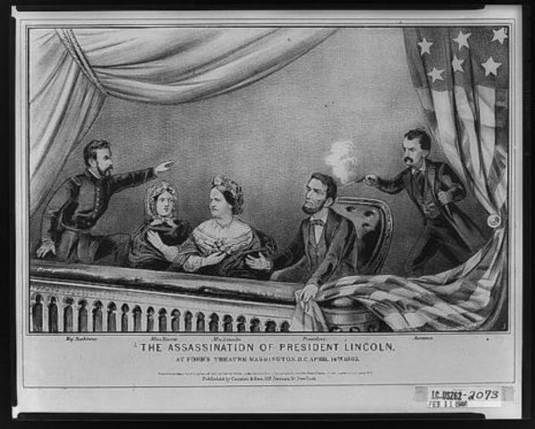President Abraham Lincoln Assassinated