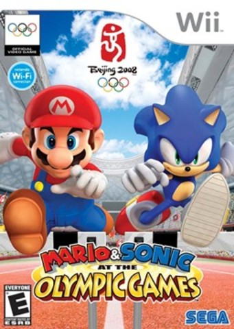 Mario and Sonic at the olympic winter games came out for D.S in North America.