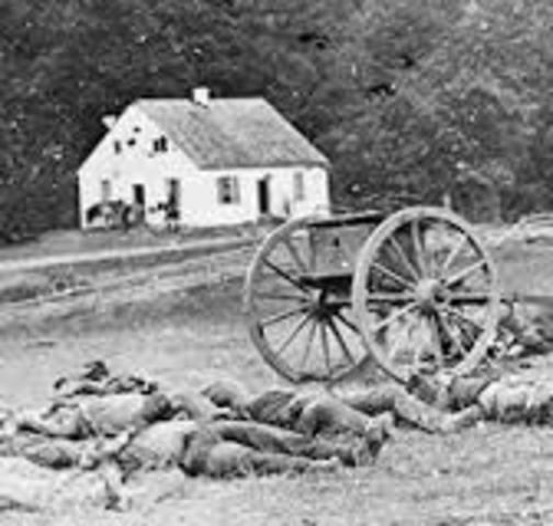 Battle at Antietam
