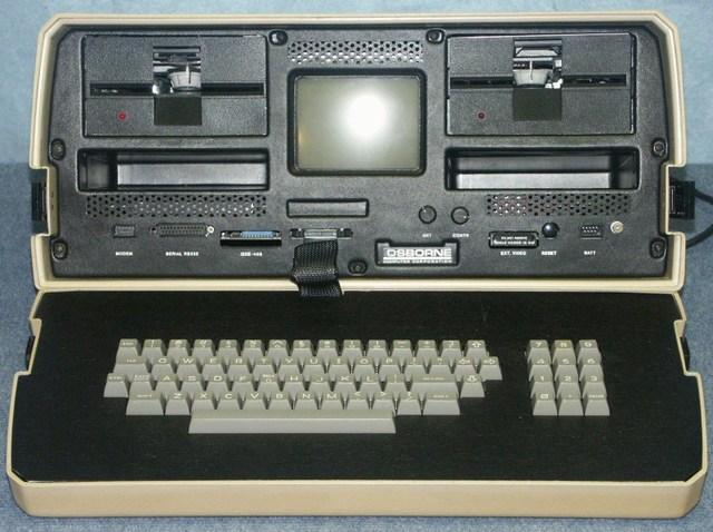 1er ordenador portátil de la historia