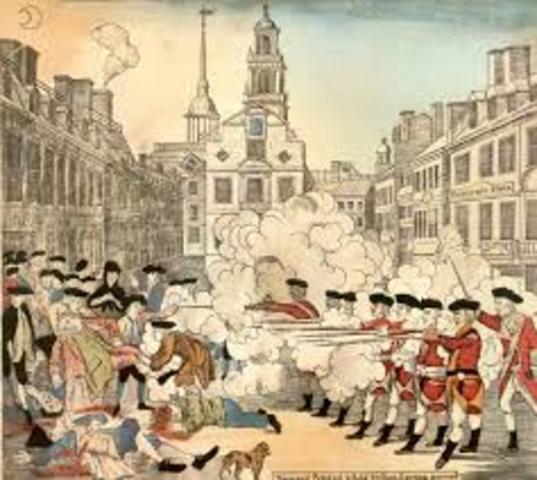 The Boston Massacre